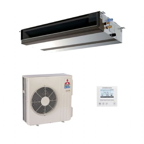 Mitsubishi Electric Air Conditioning PEAD-RP100JAQ Ducted Concealed Inverter Heat Pump 10Kw/33000Btu A+ 240V~50Hz
